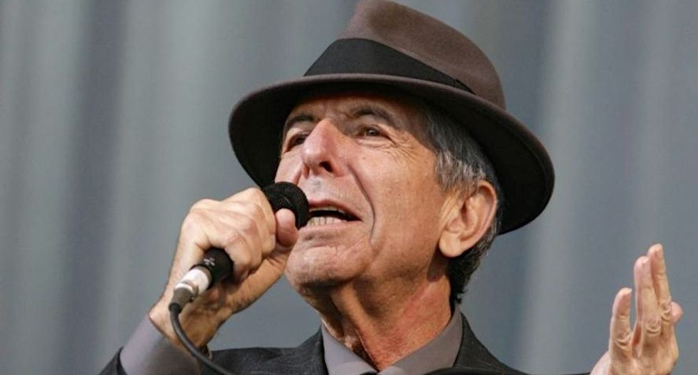 Sting, Costello to salute Leonard Cohen year after death