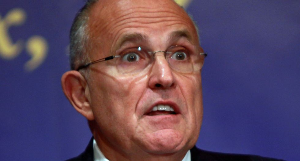 Team Trump humiliated as Rudy Giuliani's attempted 'October surprise' backfires