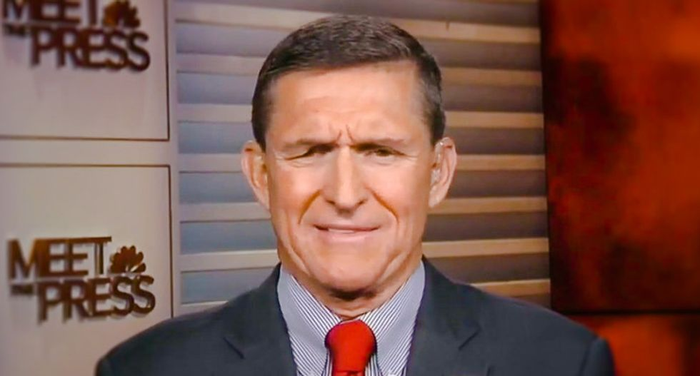 Michael Flynn, Donald Trump national security adviser, disappears from Twitter