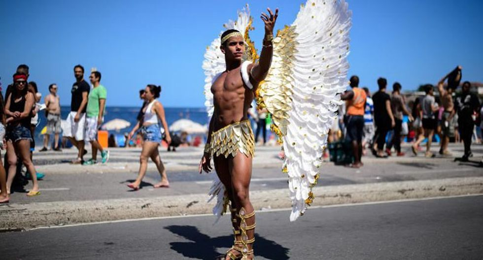 Thousands of Brazilians turn out for gay rights parade
