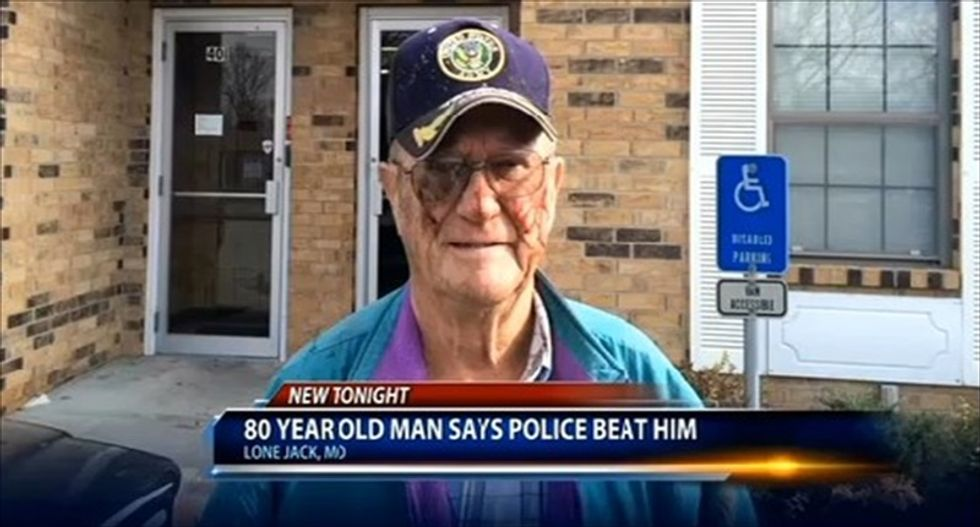 Missouri cops beat 80-year-old hearing impaired veteran for not getting off of his tractor