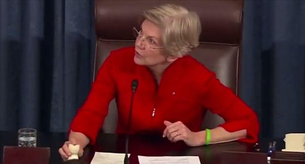 Watch Elizabeth Warren tear into the New York Fed chief over agency's 'regulatory capture'