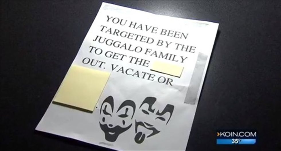 Portland businesses get anonymous threats using 'Insane Clown Posse' imagery