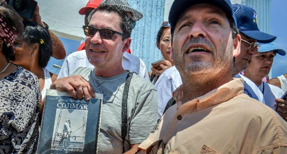 Ernest Hemingway's grandson calls for end of US-Cuba embargo
