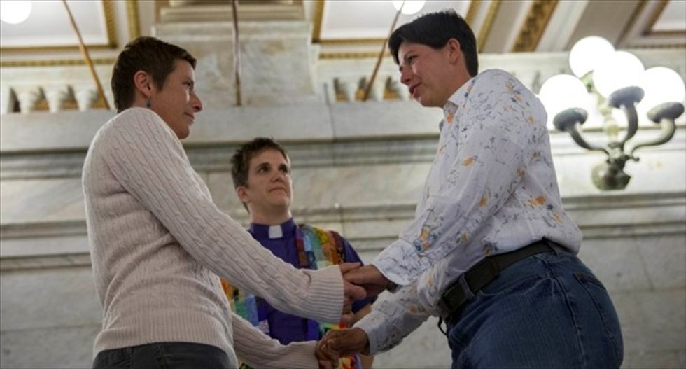 Federal judge strikes down Montana's ban on same-sex marriages