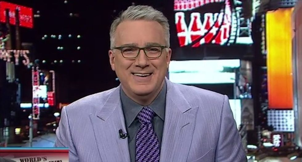 Keith Olbermann giddily picks apart Bill O'Reilly's claims of being a super jock
