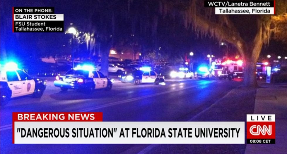 Three wounded in Florida university shooting, gunman killed