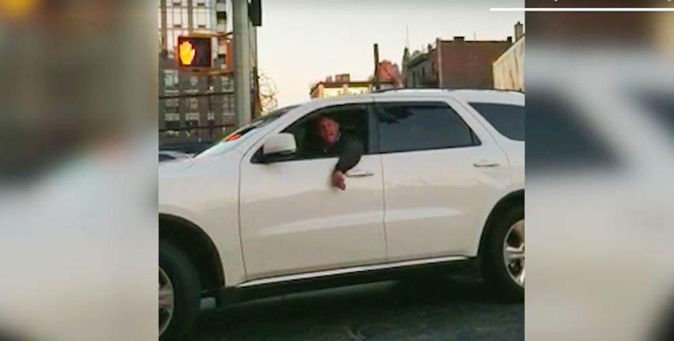WATCH: Unhinged Trump fan tells 'terrorist' Muslim Uber driver that 'they'll deport you soon'