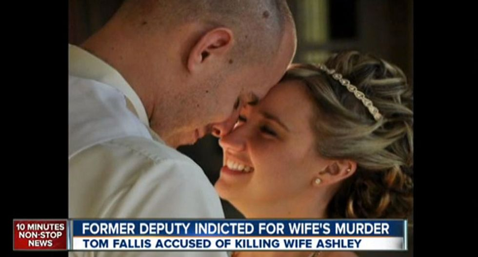 Sheriff's deputy shot wife to death after argument over toking up on New Years: police
