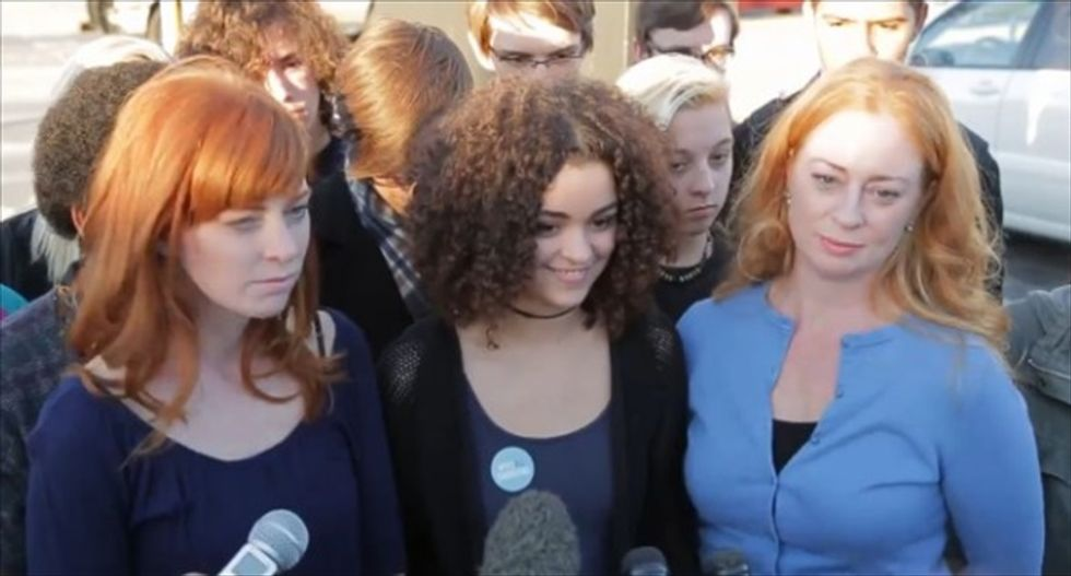 Oklahoma high schoolers set to protest officials' treatment of alleged rape victims