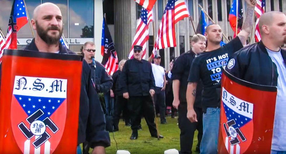 Denver neighborhood rallies to boot out neo-Nazis who are 'terrorizing' everyone