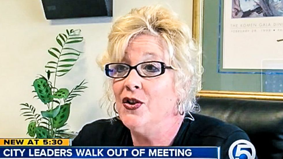 Florida commissioner shreds 'un-American' mayor for walking out on atheist's invocation