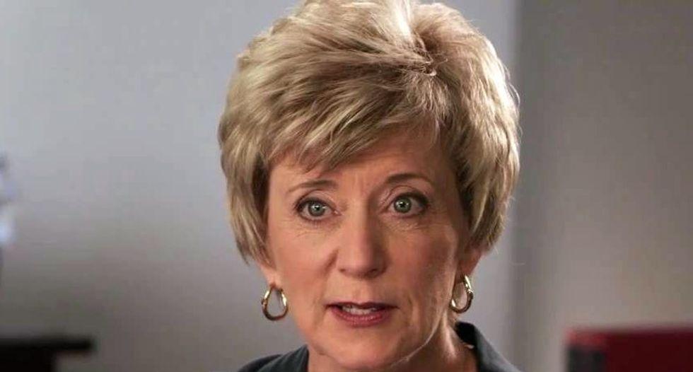 Trump chooses pro wrestling magnate Linda McMahon to head SBA