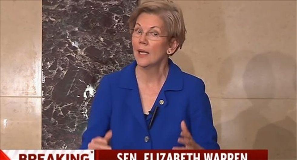 Harry Reid working on plan for Dems to keep Senate seat if Elizabeth Warren is VP: sources
