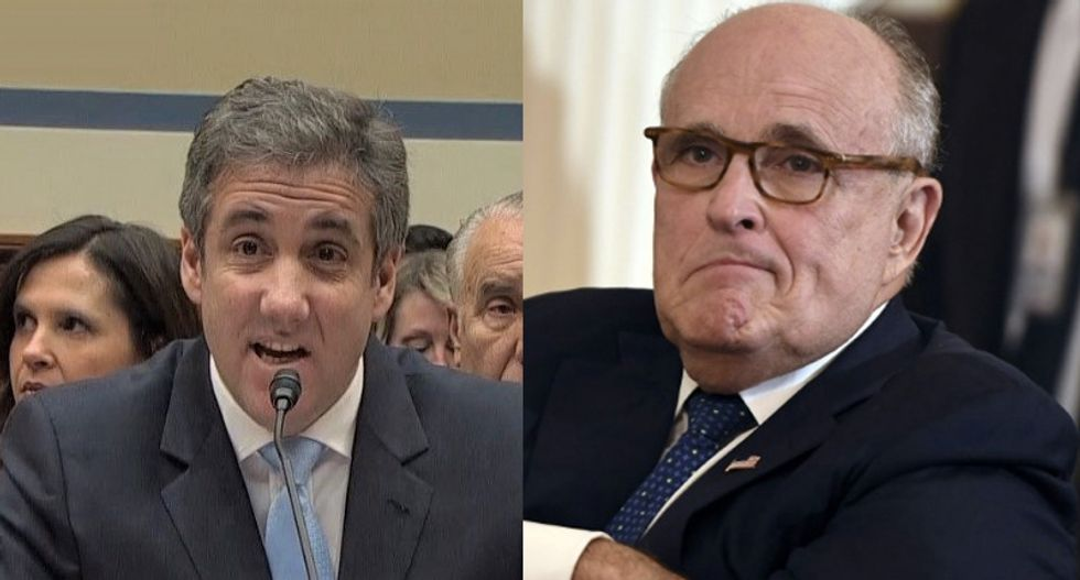 'Drunk all the time': Michael Cohen explains how 'Russians used' Rudy Giuliani