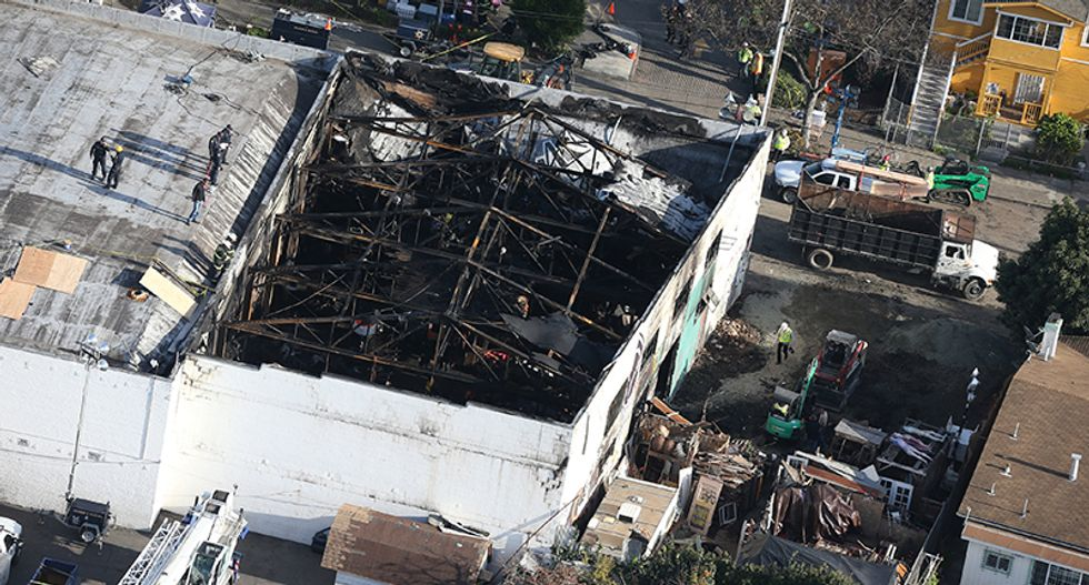 Oakland city workers visited warehouse, did not flag fire hazard