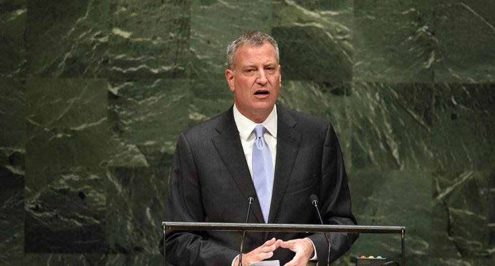 'Assassination' of police officers raises pressure on New York mayor Bill de Blasio