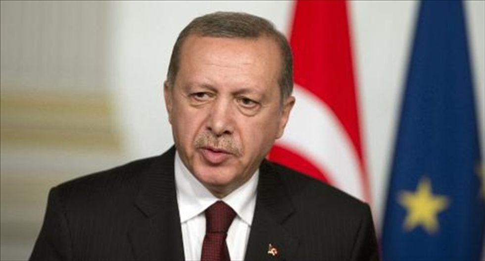 Turkish President Erdogan calls birth control 'treason,' says opponents want to 'dry up' country