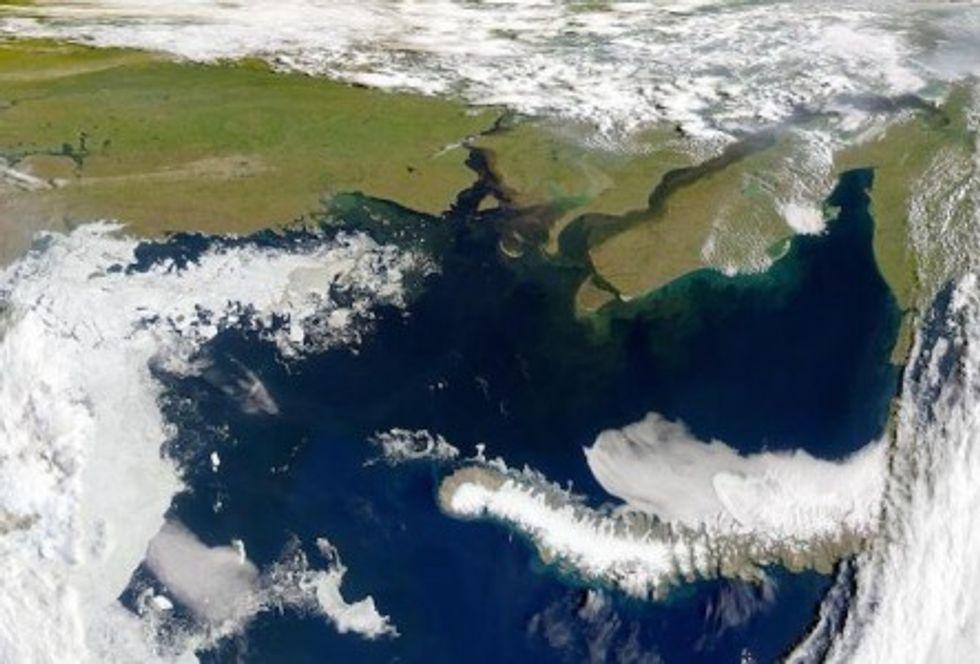 Revealed: The Arctic Ocean is releasing large volumes of methane
