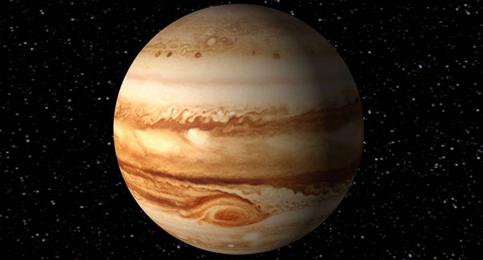 Jupiter's Great Red Spot is just a 'sunburn,' NASA scientists say