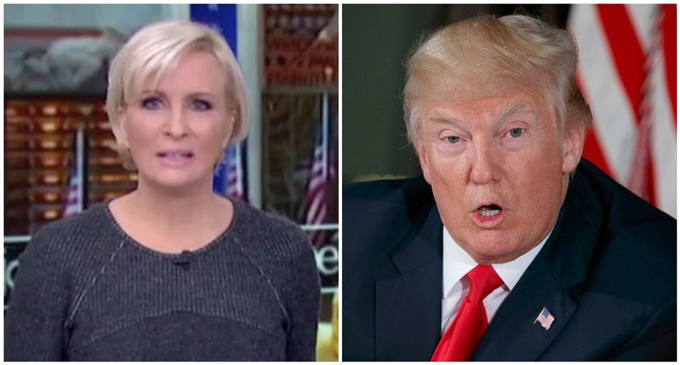 Trump recycles weeks-old attacks on MSNBC host he called 'crazy' and 'psycho'