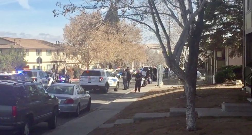 Police respond to reports of shots fired at Nevada school