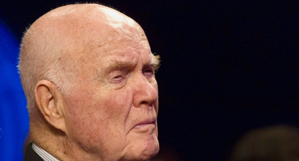 John Glenn, former US astronaut, hospitalized