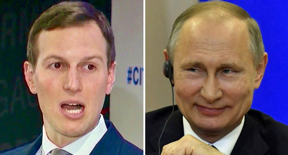Jared Kushner hung up on McCain advisor over criticism of Trump's friendly relationship with Vladimir Putin: report