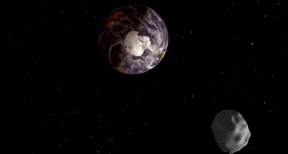 Tiniest asteroid ever discovered is naked, bright and super-swift