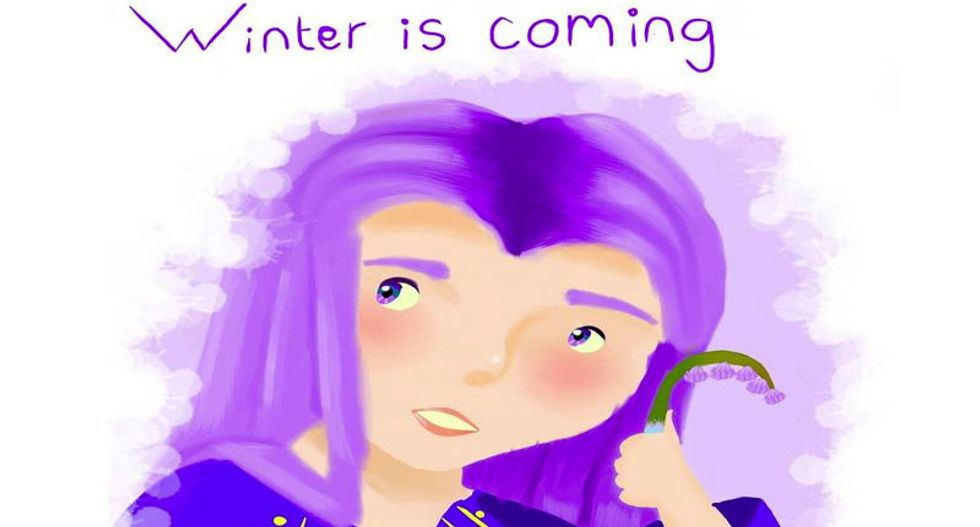 HBO gets autistic teen's painting removed from the web because it uses 'Winter is coming'