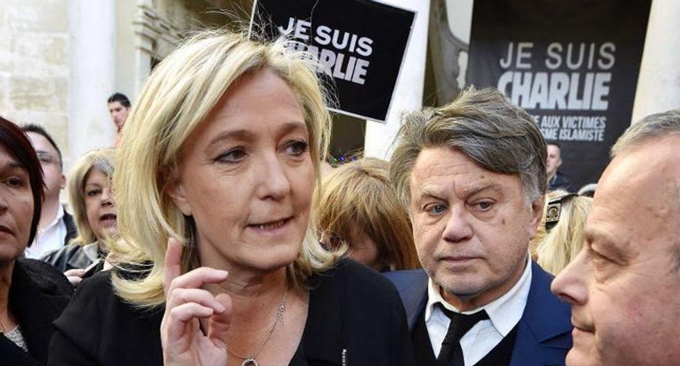 WATCH: Topless feminists ruin 'fascist' Marine Le Pen's big day