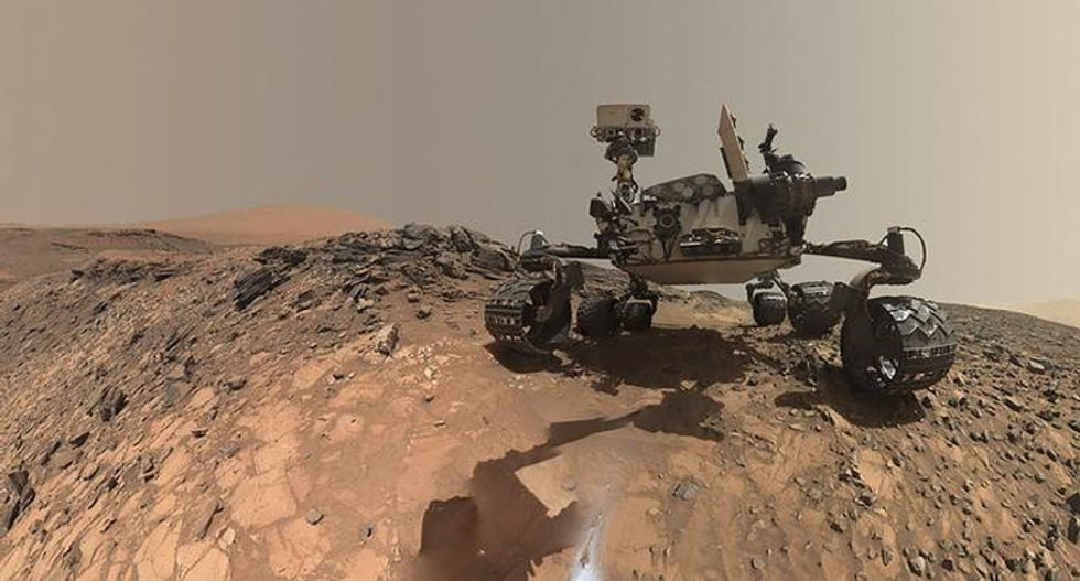 Here's what a 'Marsquake' sounds like shaking the red planet: NASA