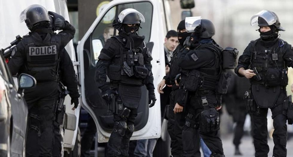 Gunman holds two hostage in French post office