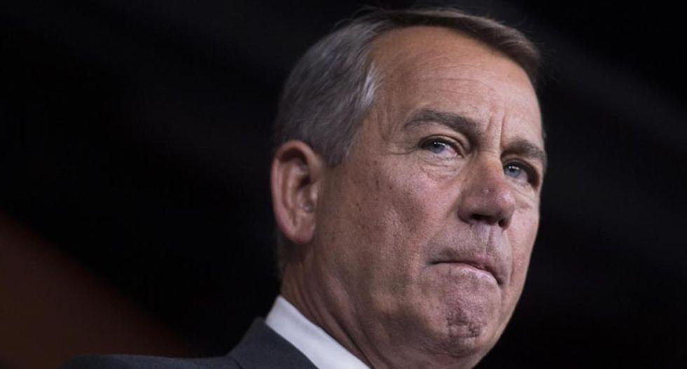 John Boehner claims mass spying program foiled Capitol bomb plot, but FBI cites Twitter
