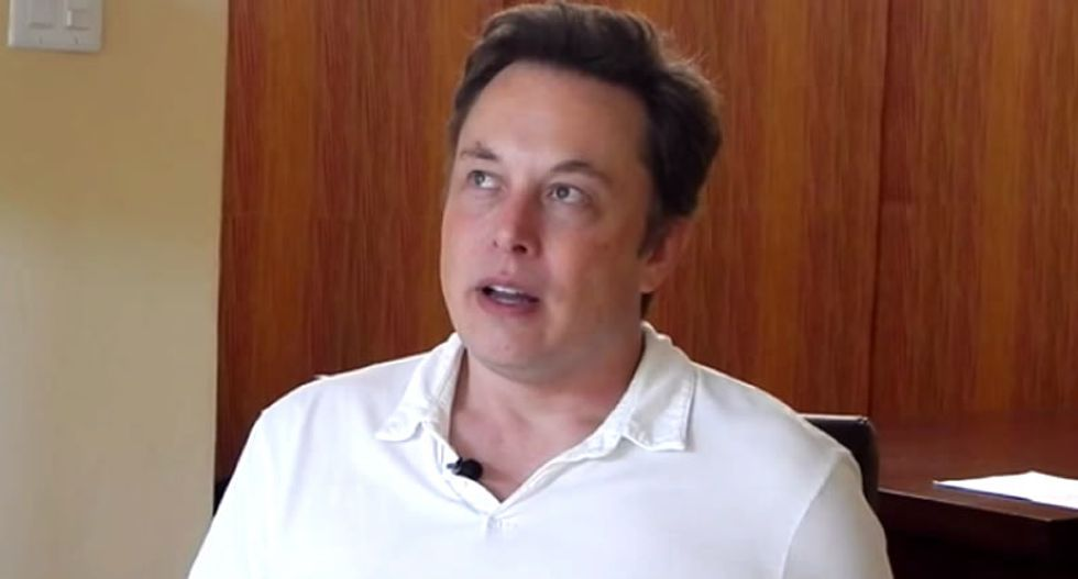 WATCH: Elon Musk explains why he donated $10 million to fund research to stop a robot uprising