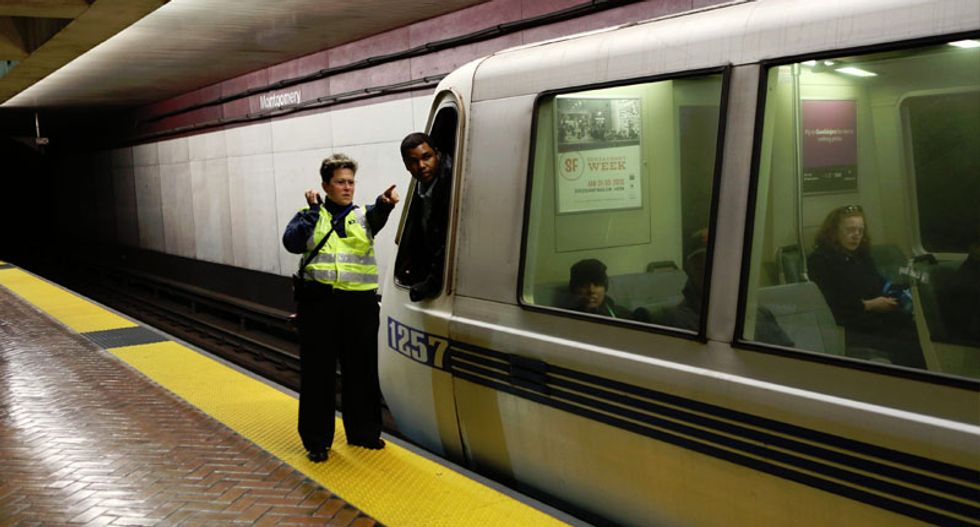 San Francisco train stations shut down by anti-police protests