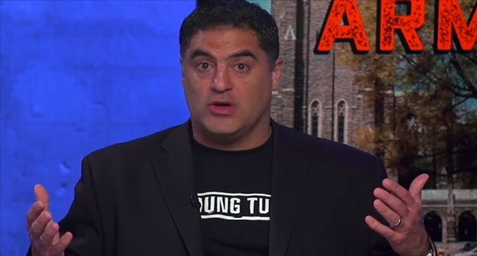 Cenk Uygur blames 'grotesque bigot' Franklin Graham for cancellation of Muslim prayer at Duke