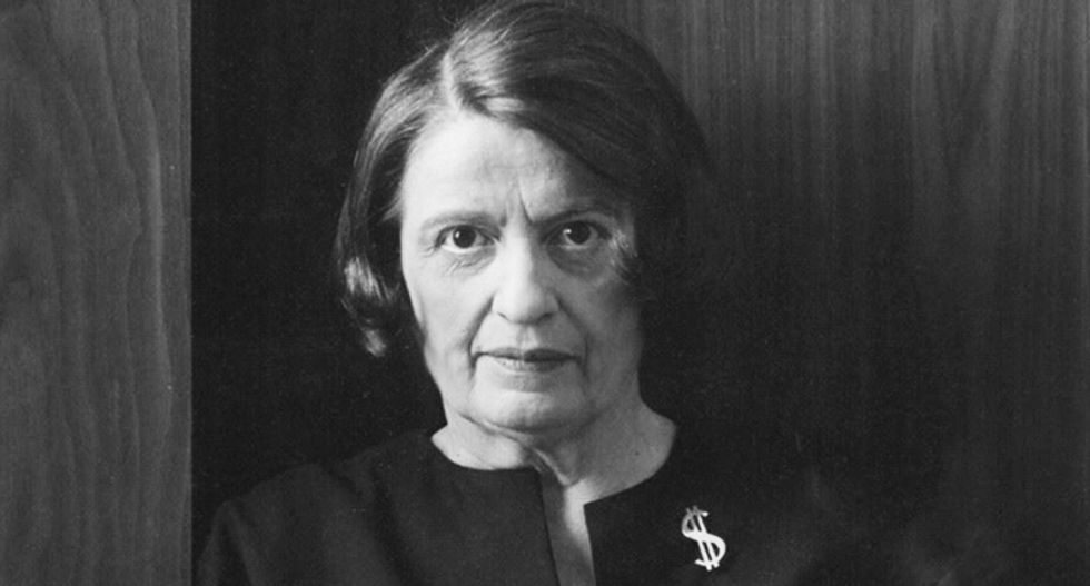 The right-wing love affair with Ayn Rand ties conservatism to one of the most disturbing sociopathic killers