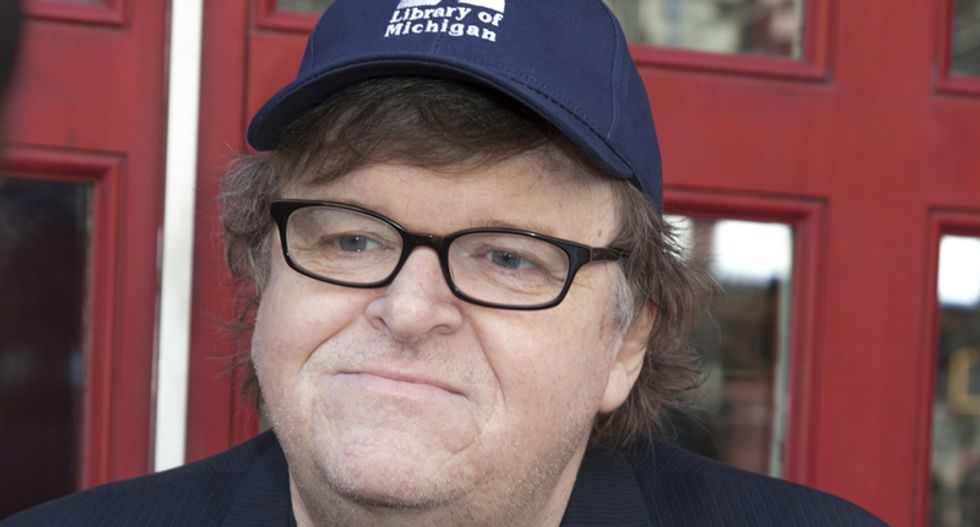 Michael Moore calls snipers 'cowards' and Twitter conservatives go bonkers
