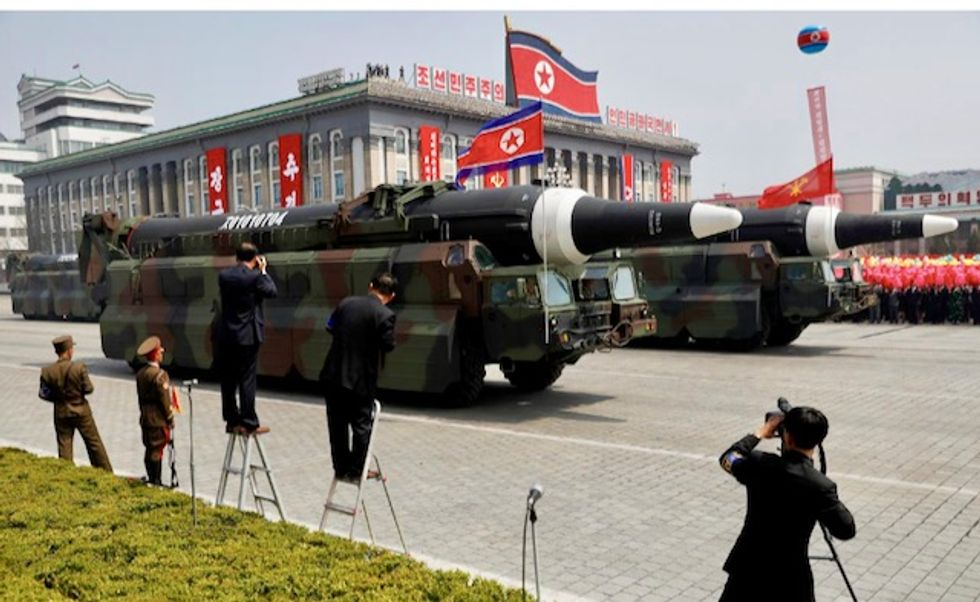 North Korea tested rocket launchers and 'tactical guided weapons'