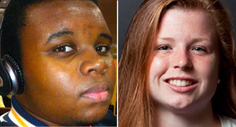 Sarah Culhane is white. Michael Brown is dead.