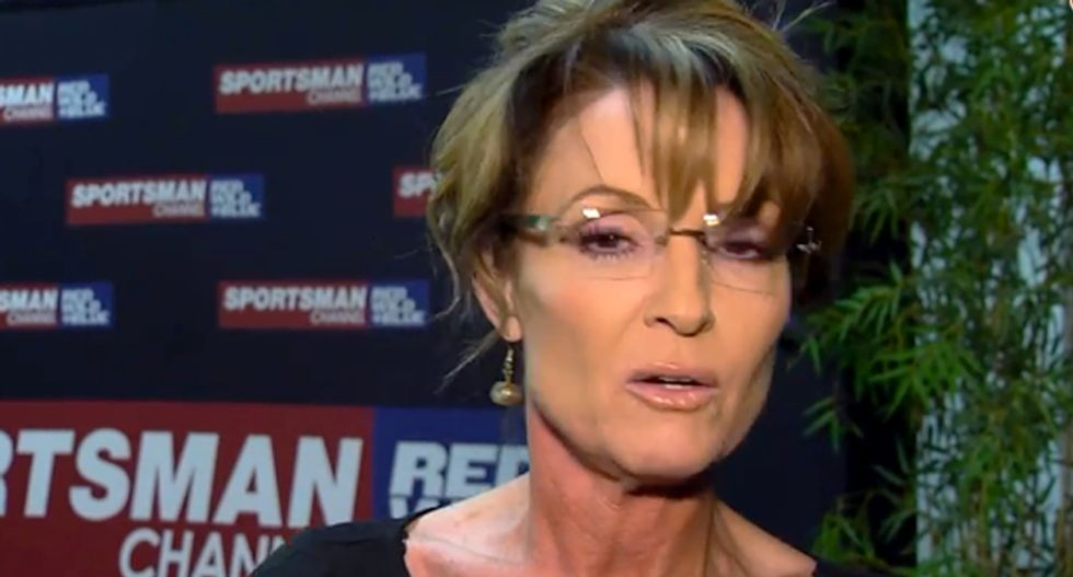 'These are thugs': Sarah Palin demands media quit calling Black Lives Matter protesters 'people'