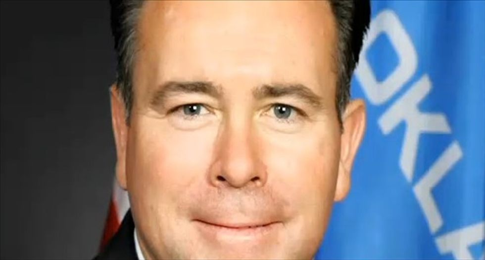 Oklahoma Republican sorry for saying Native Americans and blacks can't handle alcohol