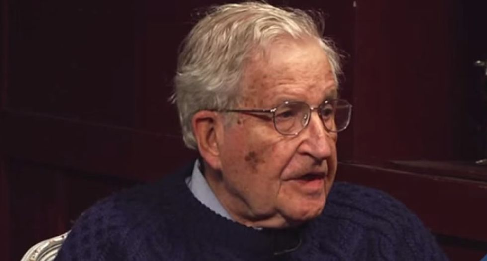 Noam Chomsky: Trump's love of 'wealth and corporate power' played a key role in country's staggering coronavirus death toll