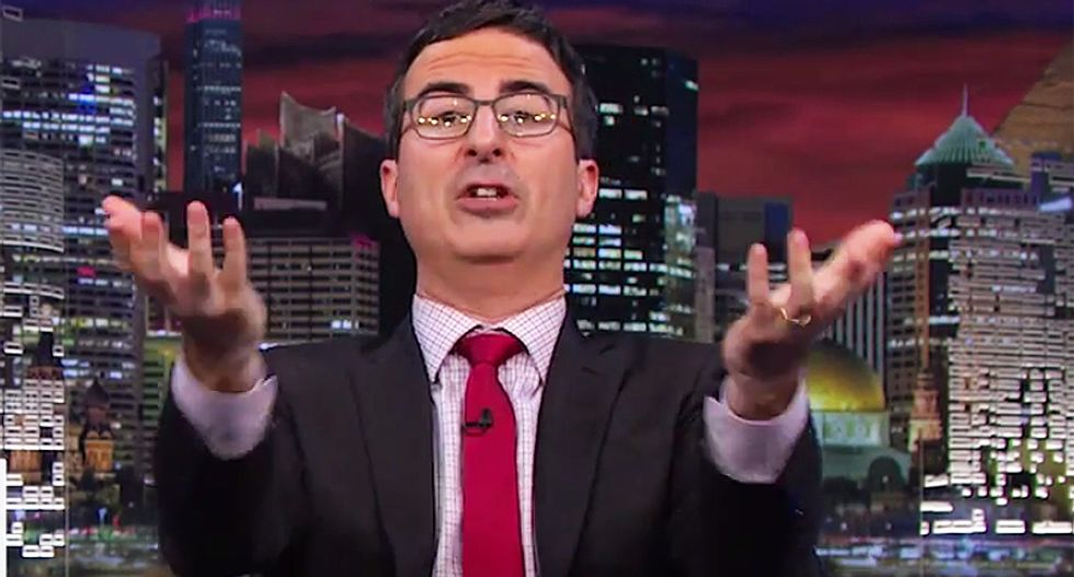 John Oliver: The only way Trump's problems get worse is if he confesses to Jeffrey Epstein's murder