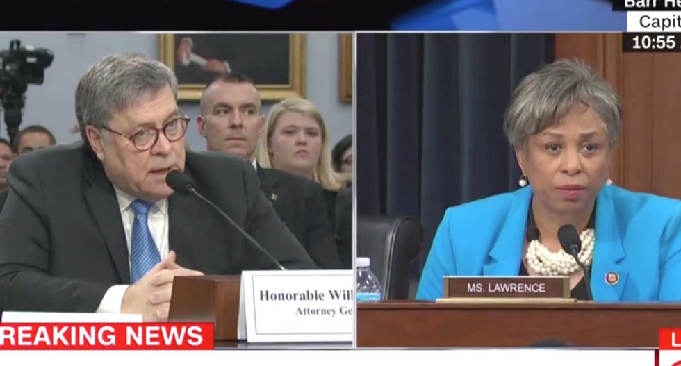 Bill Barr stumbles as Democrat grills him for refusing to say if he serves Trump or America