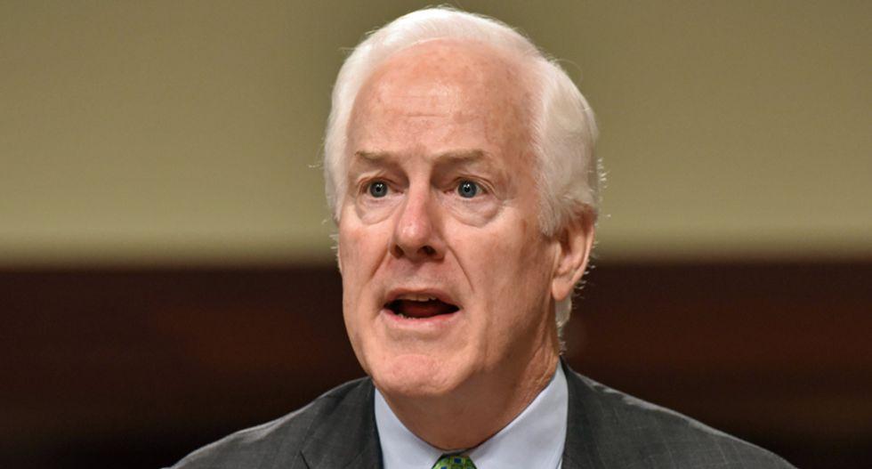 Texas' John Cornyn accused of 'partisan stunt' and blatant 'hypocrisy'