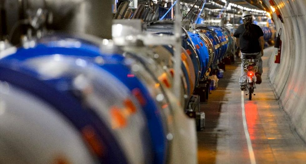 Large Hadron Collider resumes particle collisions after upgrade