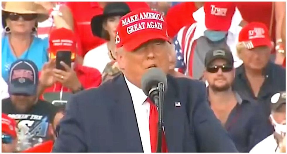 Trump makes unhinged threats against Miles Taylor at Florida rally: 'Bad things are going to happen to him'