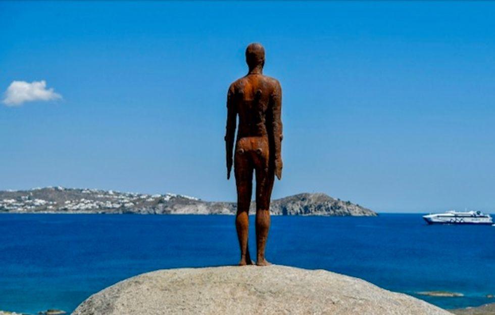 Modern sculpture meets ancient Greece in unique island exhibition